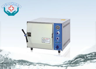 China Electric Heated Benchtop Autoclaves With Pressure And Temperature Controller supplier