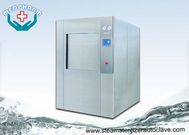 China Single Door Vertical Sliding Door Autoclave Steam Sterilizer With Built-in Vacuum Pump supplier