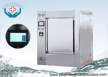 China Safety Interlock Chamber Hospital Medical Autoclave Sterilizer For Operation Instrument Sterilization supplier