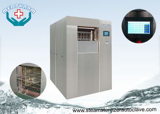 China Touch Screen Steam Autoclave Sterilizer With Vacuum Pump Trip Alarm And Utility Failure Alarm supplier