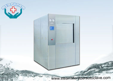 China Big Colorful Touch Screen Lab Autoclave Sterilizer With 4 Adjustable Level Feet supplier