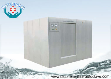China Super Heated Water Large Sterilizer With High Efficiency Circulation Water Pump And Heat Exchanger supplier