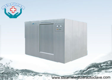 China 1200 Liter Large Steam Sterilizer With Safety Valves In Jacket and Chamber supplier
