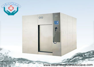 China High Performance Sliding Door Large Steam Sterilizer With Overpressure Relief Valve supplier