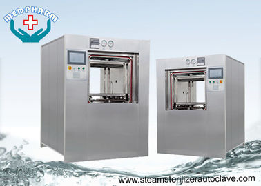 China Double jacket Pressure Chamber Lab Autoclave Sterilizer With Smooth Loading Rack supplier