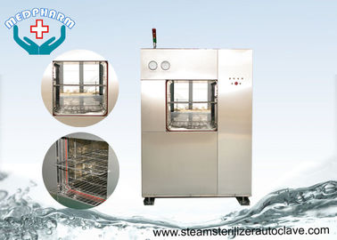 Vertical Sliding Pharmaceutical Autoclave With Wide Loading Accessories