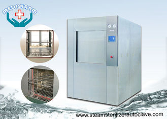 China Muti level Password Access Veterinary Autoclave With Integral Clean Steam Generator supplier