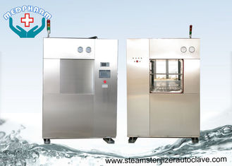 China Animal Cages BSL3 Veterinary Autoclave With Safety Relief Valve And Alarms supplier