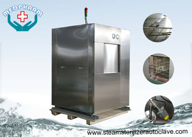 China Laboratory Research Double Door Veterinary Autoclave With Pre Vacuum Function supplier