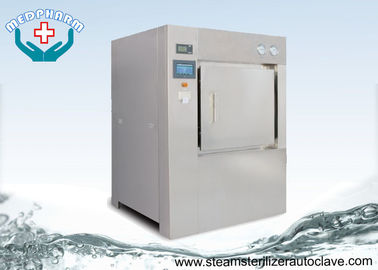 China Bulk Double Door Laboratory Steam Sterilizer Autoclave 304 Stainless Steel Chamber and Jacket supplier
