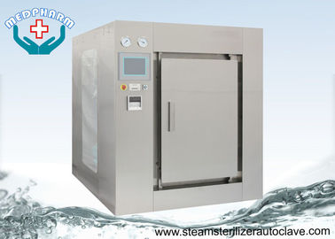 China Biohazard BSL3 Horizontal Autoclave For Research Institutes With Double Filtration System supplier