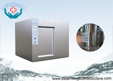 China Hot Water Shower Sterilizer Autoclave With Leak Test  Function For Ampoules and Vails supplier