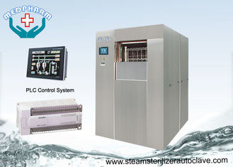 Vertical Sliding Door 100Liters Capacity Hospital CSSD Sterilizer With Micro Printer