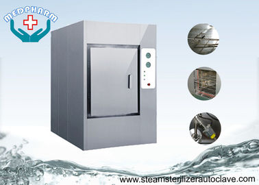 China Automatic Hinged Door Lab Sterilizer Machine Autoclave With Pre Heating Program supplier