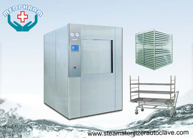 China User Friendly HMI Pass Through Autoclave With Pre Vacuum And Post Vacuum Function supplier