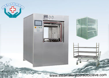 China 360 Liter Double Door Hospital Steam Autoclaves With Post Vacuum Drying Function supplier