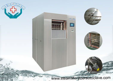 China PLC Control Systems Horizontal Autoclave Sterilizer With Advanced Sterilization Cycles supplier