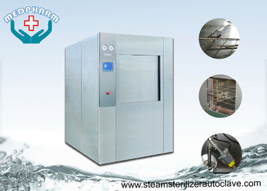 China Fully Jacket Horizontal Steam Sterilizers With Pass Through Sliding Door For Hospital CSSD supplier