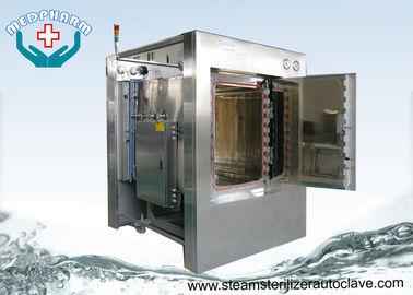 China Pass Through Hospital Steam Sterilizer With Self Diagnostic Microcomputer Function supplier