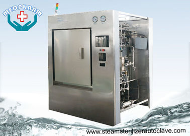China Automatic Hinge Door CSSD Sterilizer 1000 Liter With Safety Working System supplier