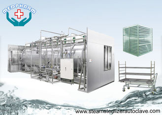 China Recessed Wall Double Door Sterilizers With Water Pump For Water Recycling And Circulation supplier