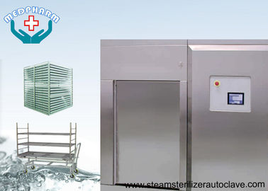 China Biosafety Pharmaceutical Autoclave With Secondary Temperature Sensor In Chamber Drain supplier