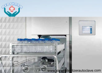 With Validation Port Program Pharmaceutical Autoclave For Sterilizing Ampoule Injection