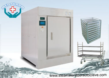 China Big Touch Screen Interface Pass Through Autoclave 600 Liter For Pharmaceutical Industry supplier