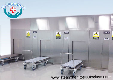 China Pre vacuum And Post Vacuum Phase Hospital Steam Sterilizer With Digital Display Window supplier