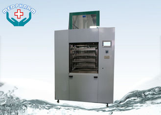 China Pass Through Automatic Ultrasonic Washer For Surgical Instruments With Spraying System supplier