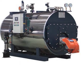 China Horizontal Wetback Industrial Steam Boiler With High Thermal Efficiency supplier