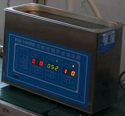 China 50W Small Digital Ultrasonic Cleaner Controlled By Computer For Laboratory And Clinic supplier