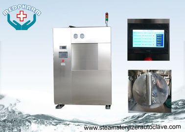 China Laboratory Autoclave Sterilizer Machine With Fine Polished Chamber And Perforated Trays distributor