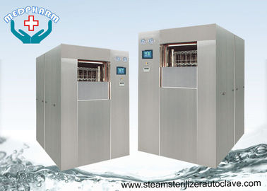 China Thermally Insulated Lab Autoclave Sterilizer With Controlled Pressure Valve distributor