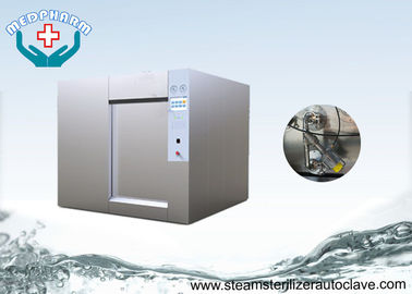 China SS304 Sliding Door With Steam Generator Horizontal Autoclaves For Research Institutes distributor