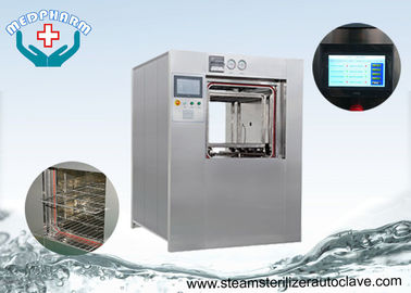 China Large Steam Sterilization Sterilizer With  Door Safe System Used In Clinic and Hospital distributor