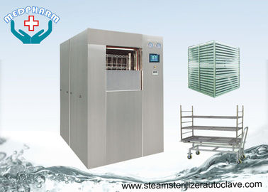 China Pre Vacuum And Post Vacuum Double Door Laboratory Autoclave For Life Science distributor