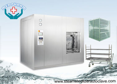 China Superheated Water Medical Autoclave With Level Sensor And Alarm In Chamber factory