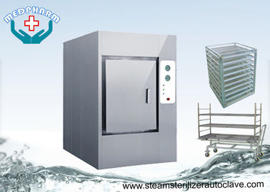China Floor standing Large Waste Autoclaves With Temperature Sensors For CSSD distributor