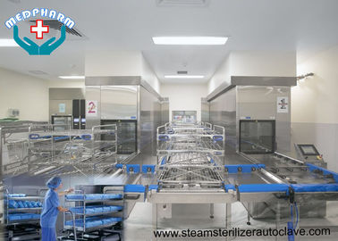 China Custom Design Large Capacity CSSD Autoclaves With Water Saving System distributor