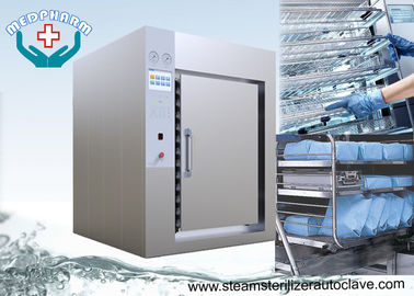 China Medium Steam Type Pharmaceutical Autoclave With Pneumatically Operated Process Valves factory