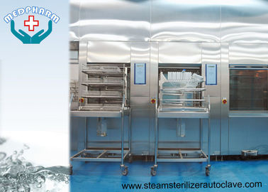 China Hospital Sterilization Sterilizer With Emergency Stop Switch And Over - current Protection Function distributor
