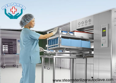 China BSL3 Double Door Laboratory Autoclaves With Effluent Decontamination System distributor