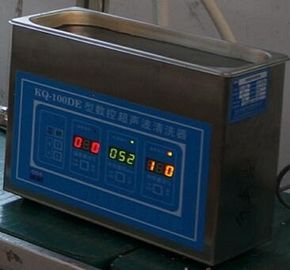 China 50W Small Digital Ultrasonic Cleaner Controlled By Computer For Laboratory And Clinic distributor