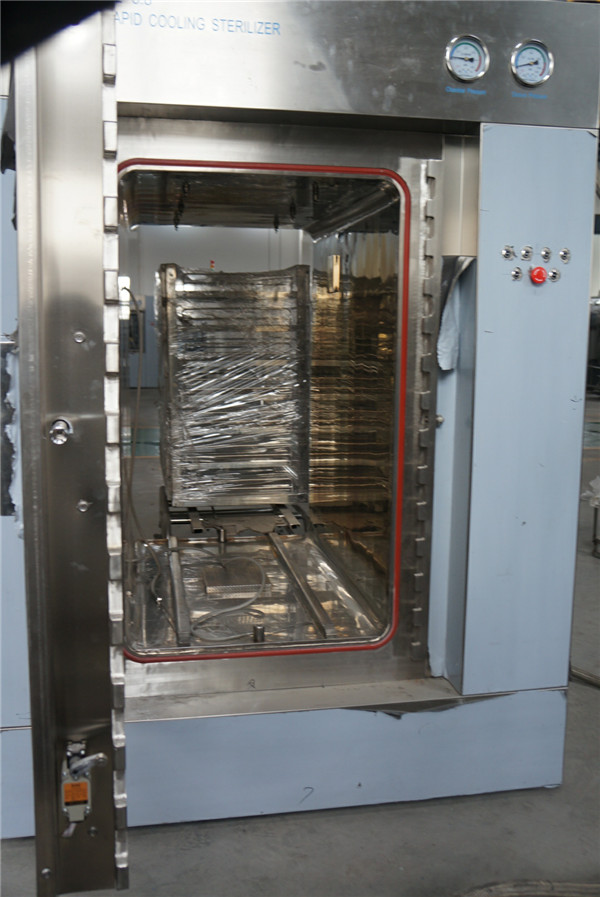 Ss316l Chamber Steam Pass Through Autoclave With Pt 100