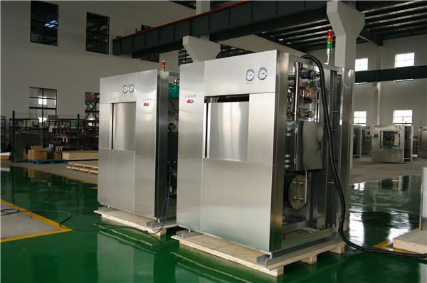Rectangular Single Ended Construction Large Steam Sterilizer With Visually And Audibly Alarm