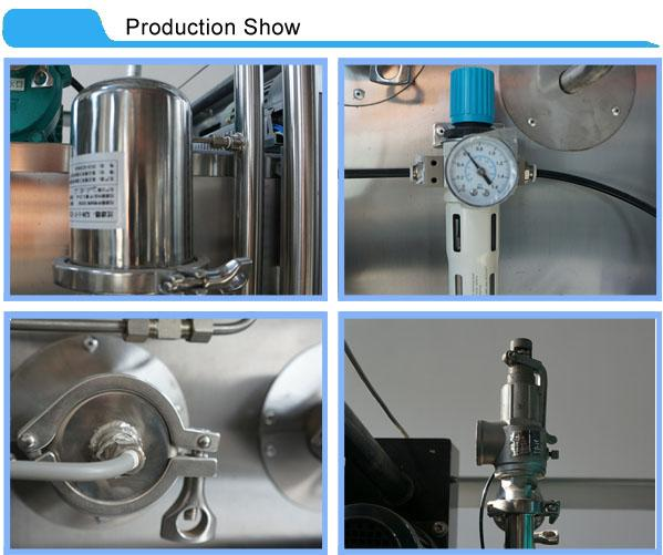 Recessed Wall Double Door Sterilizers With Water Pump For Water Recycling And Circulation