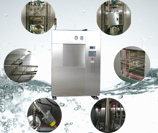 21 CFR Part 11 Complied Autoclave Sterilizer Machine with Sterilization Control Selectable On Time Basis