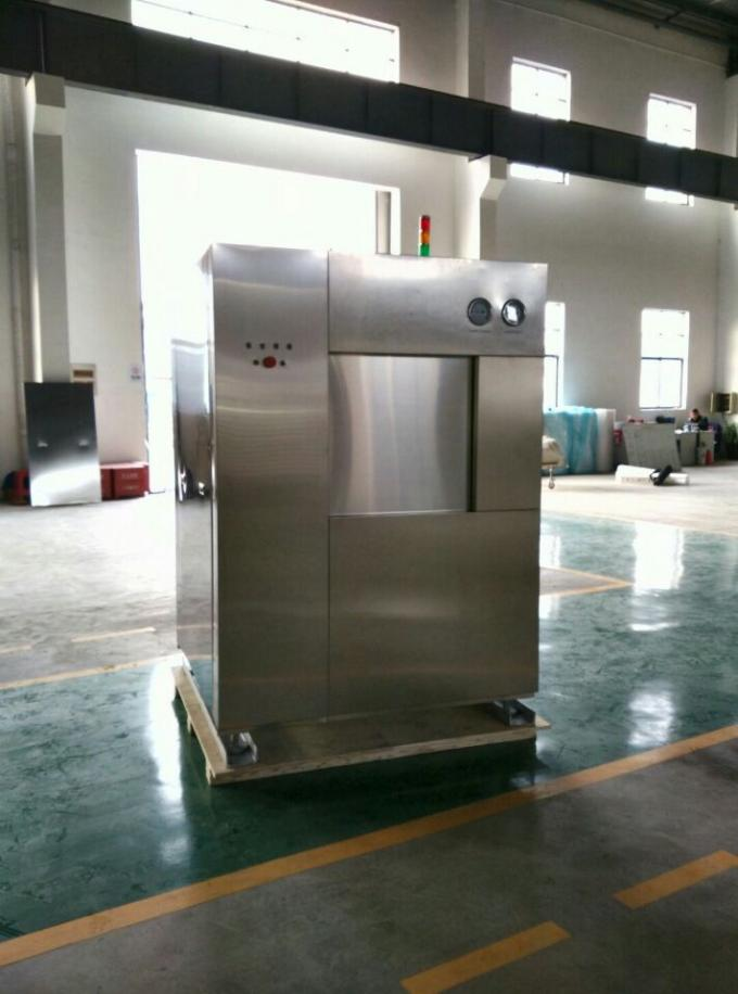 Colored Touch Screen Autoclave Sterilizer With Automatic Vertical Sliding Door
