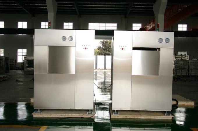 Fully Jacket SUS304 Chamber Autoclave Steam Sterilizer For Garment